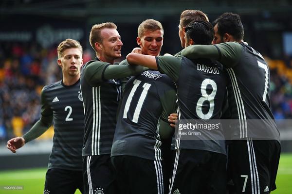 Đức có vé vớt vào bán kết U21 Châu Âu