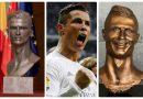 Ronaldo được Real dựng tượng