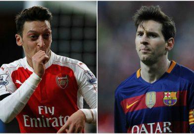 Tin chuyển nhượng: LỘ lí do khiến Messi một mực cản Barca chiêu mộ Ozil