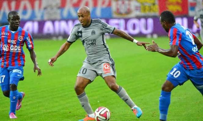 Caen vs Marseille