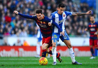 Hàng thủ chơi rất tập trung của Espanyol phát huy sức mạnh