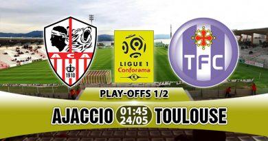Ajaccio vs Toulouse