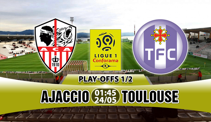 Ajaccio vs Toulouse