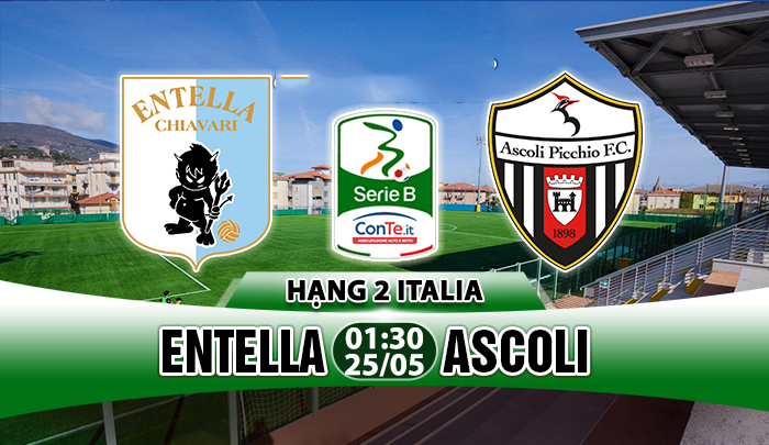 Entella vs Ascoli