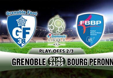 Nhận định Grenoble vs Bourg Peronnas, 01h45 ngày 23/5: Nỗi khổ đội chủ nhà