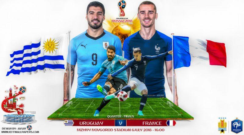 Pháp vs Uruguay: Cuộc chiến giữa tấn công và phòng ngự.