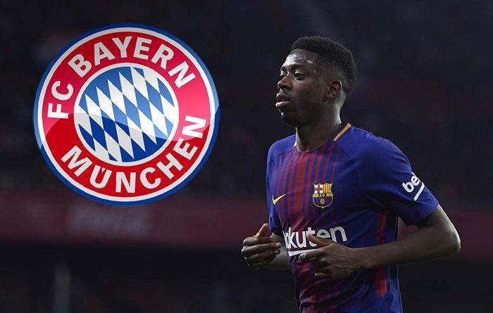 Dembele đang trong tầm ngắm của Bayern.