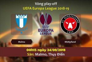 Nhận định chính xác Malmo vs Midtjylland, 0h15 ngày 24/8: Europa League