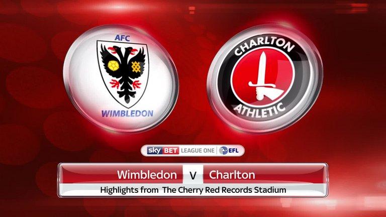 Charlton vs Wimbledon (01h45 ngày 05/09, EFL Trophy)