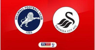 Millwall vs Swansea (23h30 ngày 01/09, Hạng nhất Anh)