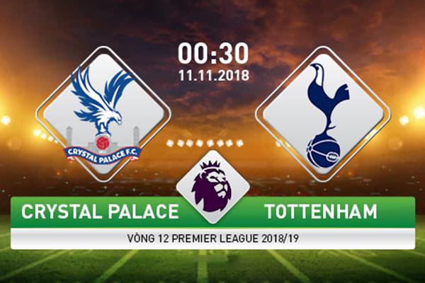Nhận định Crystal Palace vs Tottenham 00h30 ngày 11/11