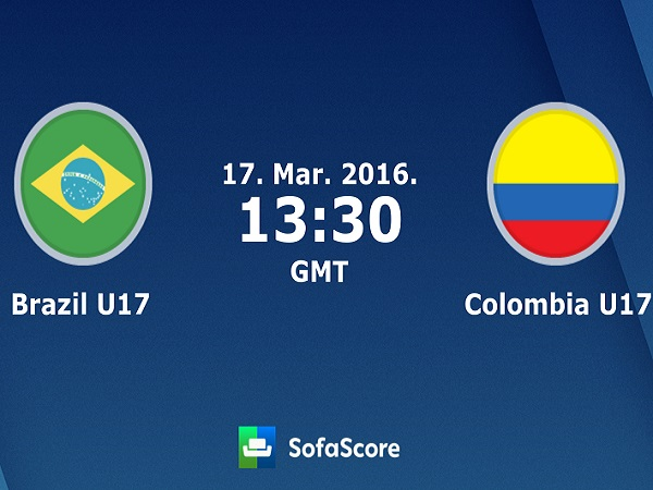 Nhận định U17 Brazil vs U17 Colombia, 7h30 ngày 29/03