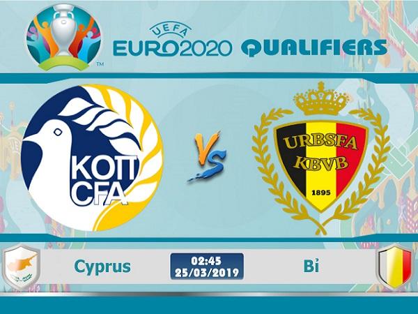 Nhận định Cyprus vs Bỉ, 2h45 ngày 25/03