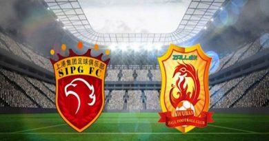 Tỷ lệ kèo giữa Shanghai SIPG vs Wuhan Zall
