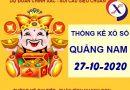 Thống kê SX Quảng Nam thứ 3 ngày 27-10-2020