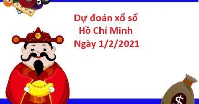 Dự đoán xổ số Hồ Chí Minh 1/2/2021
