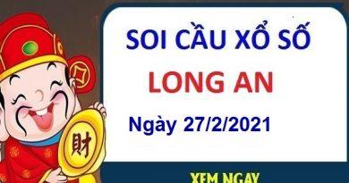 Soi cầu XSLA ngày 27/2/2021 – Soi cầu xổ số Long An cùng chuyên g