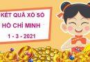 Thống kê sổ xố Hồ Chí Minh thứ 2 ngày 1/3/2021