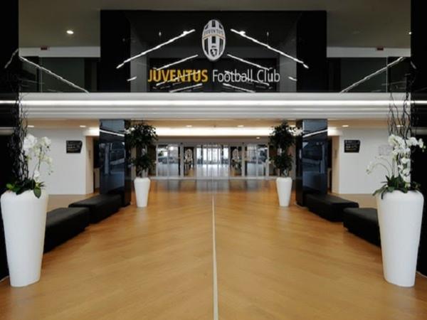 Lối vào sân vận động Juventus.