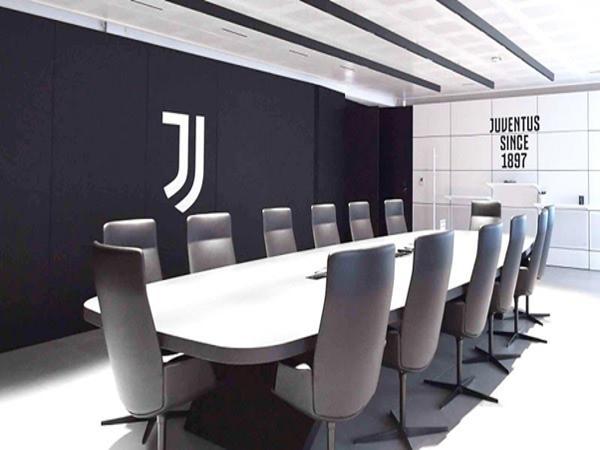 Phòng họp ban điều hành của câu lạc bộ Juventus.