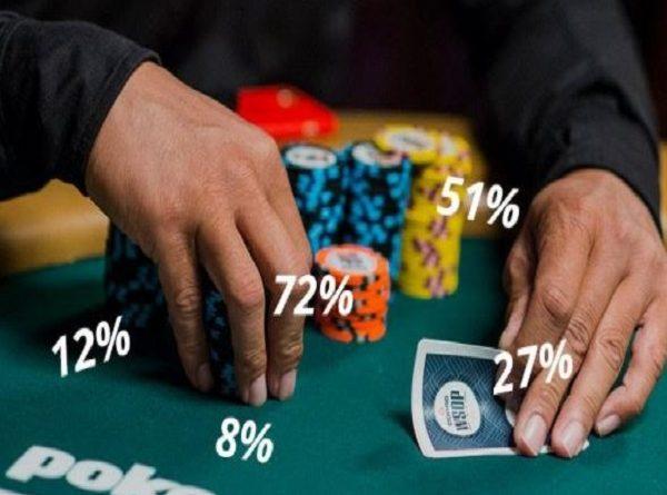 toán học trong poker tăng tỷ lệ thắng như thế nào