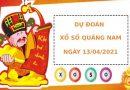 Soi cầu dự đoán XS Quảng Nam Vip ngày 13/04/2021