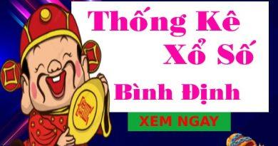 Thống kê xổ số Bình Định 20/5/2021