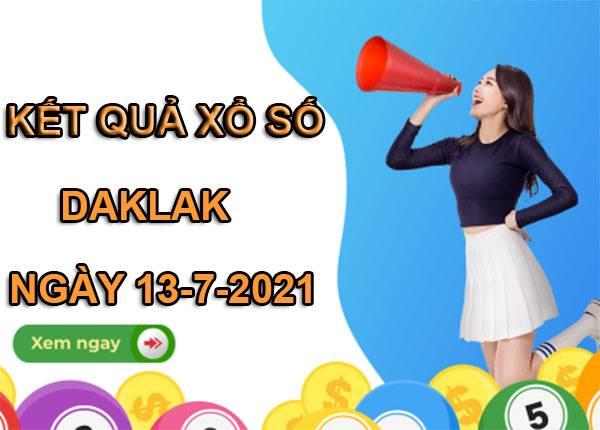 Thống kê sổ xố Daklak thứ 3 ngày 13/7/2021