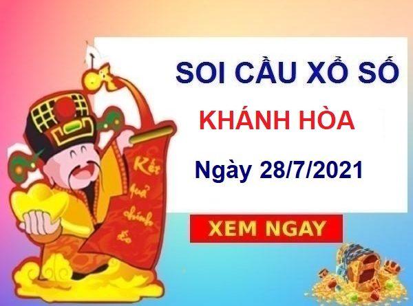 Soi cầu XSKH ngày 28/7/2021