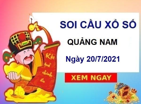 Soi cầu XSQNM ngày 20/7/2021
