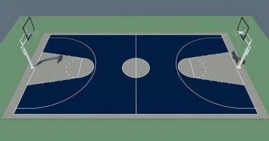 Kích thước sân bóng rổ tiêu chuẩn theo quy định FIBA
