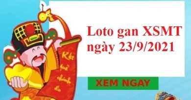 Loto gan KQXSMT ngày 23/9/2021