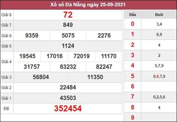 Nhận định KQXSDNG 29/9/2021 thứ 4 soi cầu Đà Nẵng